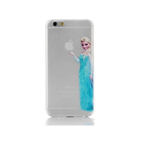 Coque Silicone IPHONE 5/5S/SE Elsa Reine des Neiges Princesse Disney APPLE Cartoon Protection Gel Souple Housse Etui