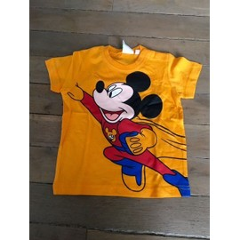 T-Shirt Disney Coton 12 Mois Orange