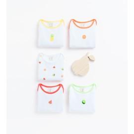 Lot De Cinq Bodies � Fruits Zara