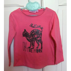 T-Shirt Rose Nky - Taille 4 Ans