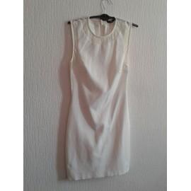 Robe Sexy Zara 34 Blanc