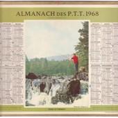 Almanach Des P.T.T. 1968 Dans Le Torrent