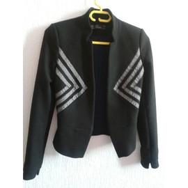 Veste Zara Polyester Xs Noir