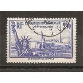 458 (1940) Exposition De New York 2f50 Oblit�r� (Cote 11e) (4282)