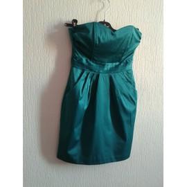 Robe De Soir�e H&m Polyester 34 Vert