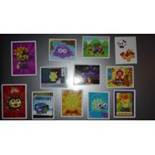 Lot De 12 Images Topps Moshi Monsters