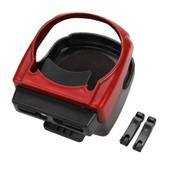 Support Porte-Gobelet Coupe Bouteille Boisson V�hicule Voiture Rouge