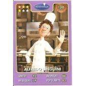 Carte Auchan Disney Pixar Alfredo Linguini - Ratatouille 106