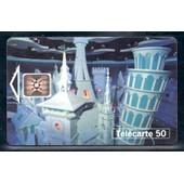 France F468 Disneyland Le Monde En Choeur 50u-Sc5 1994