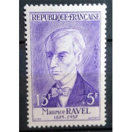 Timbre neuf **sans charniére:Maurice Ravel n°1071.