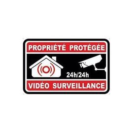 autocollant video surveillance d 39 occasion 85 pas cher. Black Bedroom Furniture Sets. Home Design Ideas