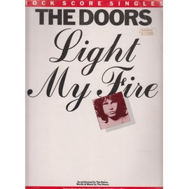 THE DOORS PARTITION SHEET MUSIC SONG BOOK LIGHT MY FIRE DIFFERENTS INSTRUMENTS