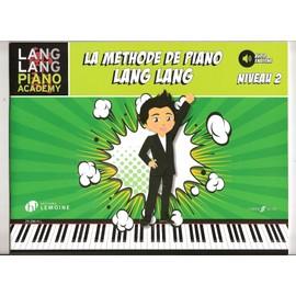 Lang Lang: Méthode de Piano - Niveau 2 - BOOK (AUDIO EN LIGNE)