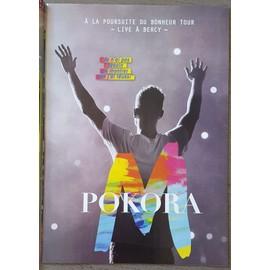 poster a4 m pokora