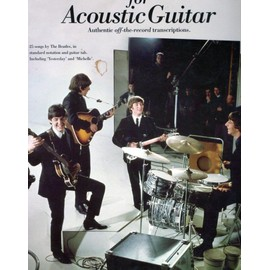 PARTITION THE BEATLES FOR ACOUSTIC GUITAR