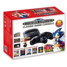Image Console Sega Megadrive + 80 Jeux Édition Sonic 25ème Anniversaire