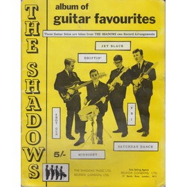THE SHADOWS ALBUM OF GUITAR FAVOURITES
