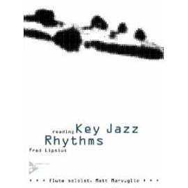 Fred Lipsius reading Key jazz rhythms Flute soloist avec CD