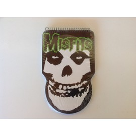 """MISFITS carnet """"fiend skull"""""""
