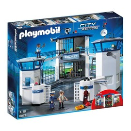 pas cher playmobil commissariat police 126 produits. Black Bedroom Furniture Sets. Home Design Ideas