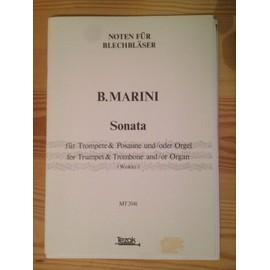 Sonata für Trompete & Posaune und/oder Orgel - B. Marini
