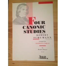 Four canonic studies - trombone & organ