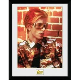 David Bowie Poster De Collection Encadré - Glasses (40x30 cm)