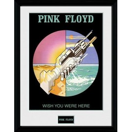 Pink Floyd Poster De Collection Encadré - Wish You Were Here 2 (40x30 cm)