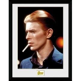 David Bowie Poster De Collection Encadré - Smoke (40x30 cm)