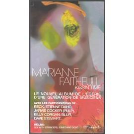 MARIANNE FAITHFULL KISSIN TIME PLV FORMAT 25X14