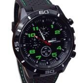 fb15130c0c57c Montre Homme Sport Quartz Grand Touring Gt Racing Bracelet Silicone Cadran  Vert