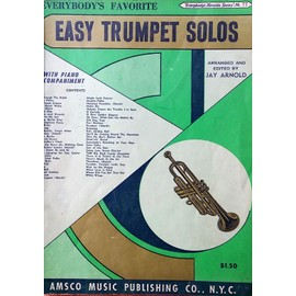everybody's favorite series 77 easy trumpet solos