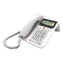 BT Decor 2600 Advanced Call Blocker Téléphone filaire système de répondeur avec ID dappelant