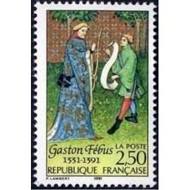 FRANCE NEUF 1991 GASTON FEBUS 2708