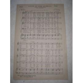 Louez le dieu puissant. Choral à 4 voix mixtes ou à l'unisson.