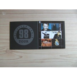 """Johnny Hallyday - Bloc timbres """"Collector serie 98"""""""