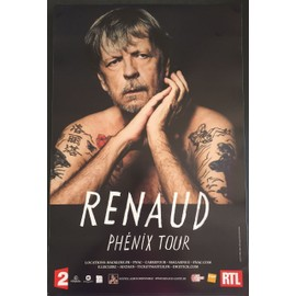 RENAUD - Phénix Tour - 80x120 cm - AFFICHE / POSTER envoi en tube