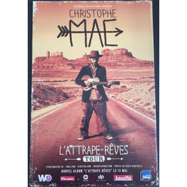 Christophe Maé - L'Attrape-Rêves Tour - 40x60 cm - AFFICHE / POSTER envoi en tube