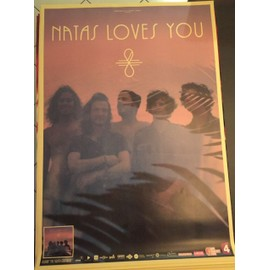 NATAS LOVES You - The Eighth Continent - 70x100 cm - AFFICHE / POSTER envoi en tube