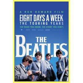 Poster encadré: The Beatles - Movie (91x61 cm), Cadre Plastique, Jaune