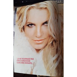 poster a4 + article britney spears