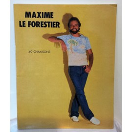 maxime le forestier  40 chansons