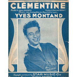 CLEMENTINE - YVES MONTAND