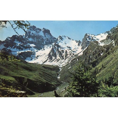 Carte postale couleur e.126 hautes alpes vallee du queyras editions <strong>gap</strong>