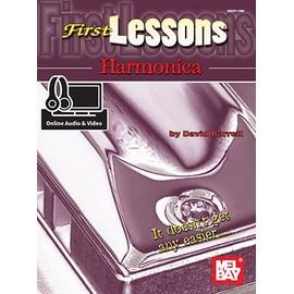First Lessons Harmonica - David Barrett