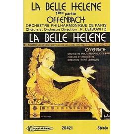 orchestre philharmonique de paris (leibowitz) k7 audio la belle hélène (1ere partie) offenbach