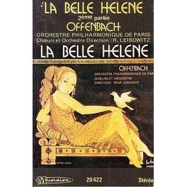 Orchestre Philharmonique De Paris (Leibowitz) K7 Audio La Belle Hélène (2eme Partie) Offenbach