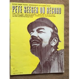 Pete seeger on record Guitar finger picking