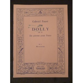 Dolly - Opus 56 - Six pièces pour piano - N° 1 - Berceuse