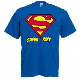 T-Shirt Super Papy - Superman